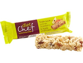 Diet Chef Oat Bar with Strawberry & Apple