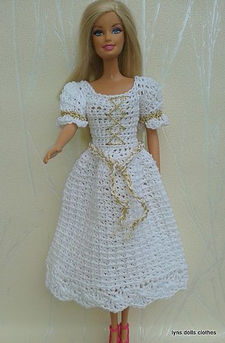 Ravelry: Barbie crochet princess dresses pattern by linda Mary