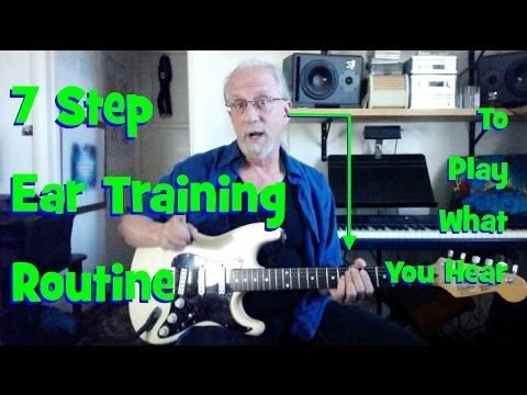 Improvising Music: A 7-Step Ear Training Routine to Play What You Hear - YouTube