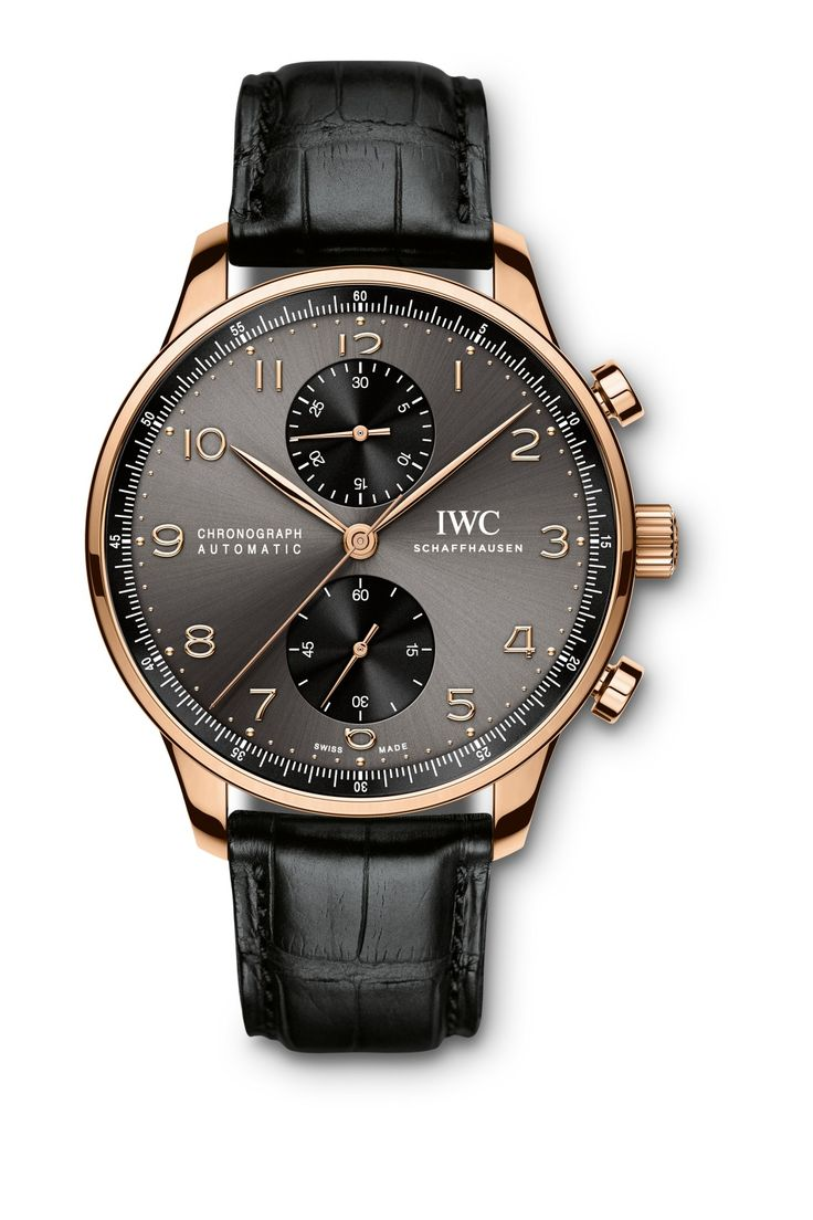 The IWC Portugieser Chronograph. Add it to your holiday wish list!