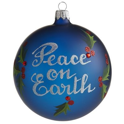 Love! European Peace on Earth Ornament: European Peace, Site Pier1 Us Site, Ornaments 15, Xmas Ornaments, Earth Ornaments, Pier One, Christmas Ball, Polyvore, Everyday Christmas