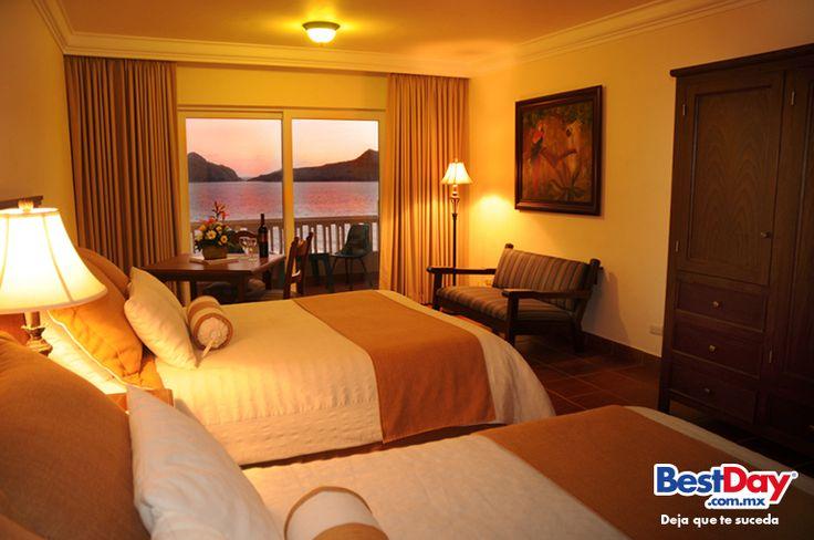 El Hotel Playa #Mazatlan tiene 400 cuartos con una variedad de opciones: Habitaciones a precios razonables, con Vista al Jardín, Vista al Mar, Habitaciones con Vista al Mar de Lujo, Junior Suites, Habitaciones comunicadas para familias o grupos, Habitaciones Boutique y lujosos Penthouses. #BestDay #OjalaEstuvierasAqui