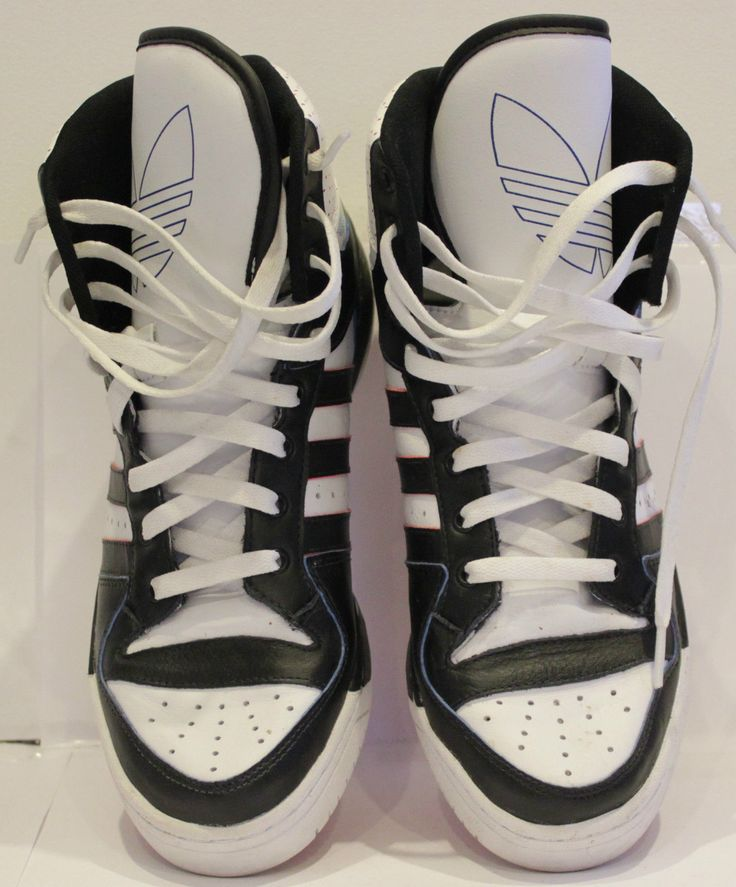 Adidas Attitude XL Trainers G50831 Black White UK 9 Limited Edition RARE | eBay
