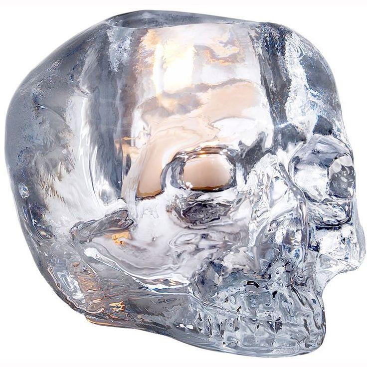 Still Life Lyslykt Skull Kosta Boda - Kjøp møbler online på ROOM21.no