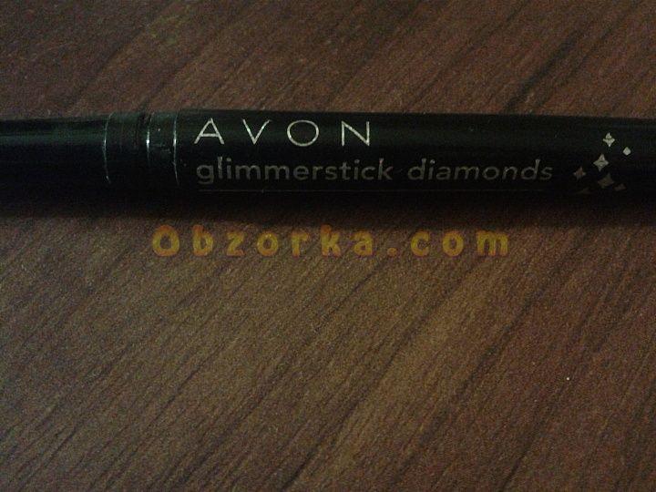 Черный карандаш для глаз Avon, рисуем глазки
