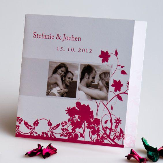 Es ist so Wundervoll Dich zu Spüren  Kreativ Hochzeitseinladungskarten