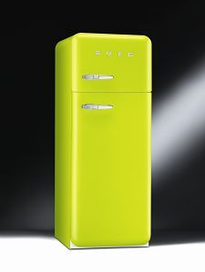 I love Smeg! I'm not sure which colour I would go with - love this lime shade, but also the striped fridge is super cool.
