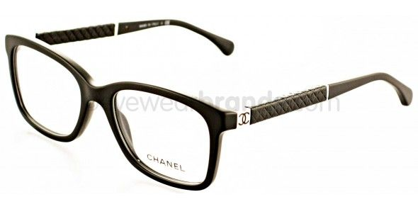 Chanel CH 3228-Q c555 MATTE BLACK Chanel Glasses | Chanel Prescription Glasses from EyewearBrands