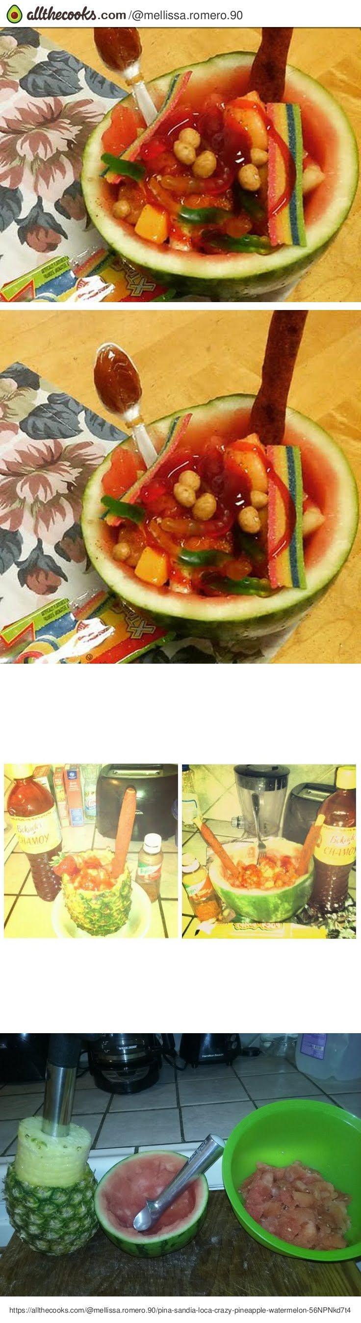 Piña/sandia Loca Crazy Pineapple/watermelon