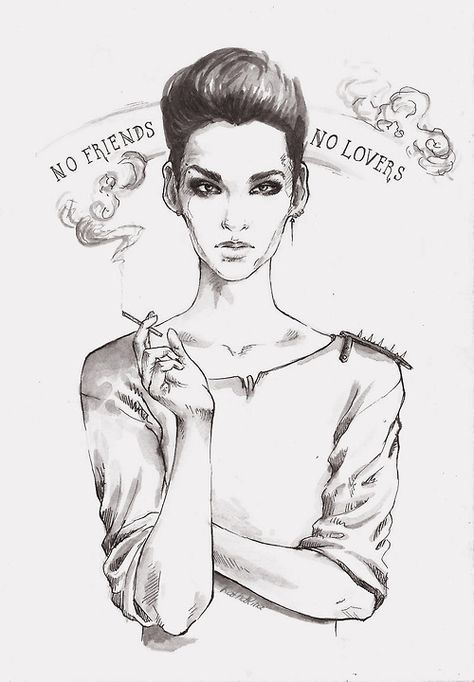 no friends no lovers fan art bill kaulitz