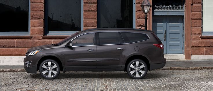 Chevrolet Traverse.  Parents Magazine named this one of the best SUVs for families.