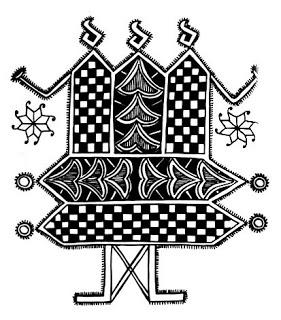 Indian Folk Designs: ~ Folk Designs from West Bengal ~