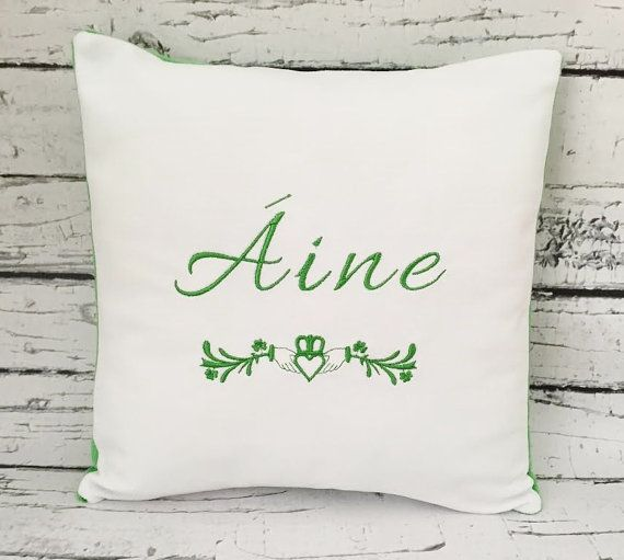 16 best irish baby gifts images on pinterest irish baby baby personalized irish claddagh pillow celtic pillow irish baby pillow decorative pillow wedding pillow irish baby gifts negle