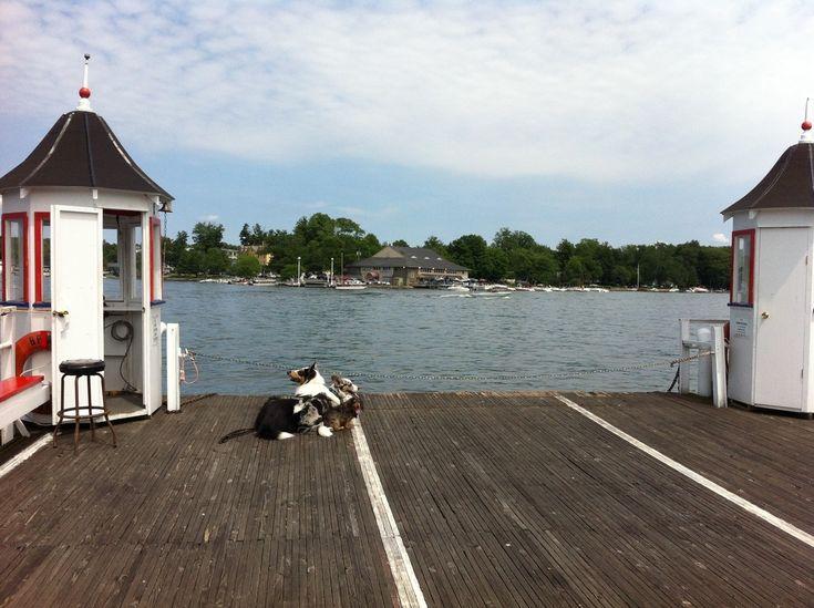 Bemus Point from the Bemus-Stow Ferry, Chautauqua Lake, New York
