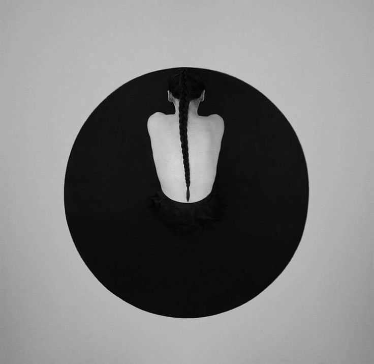 Black and White Minimalist Self Portraits by Noell Oszvald #inspiration #photography