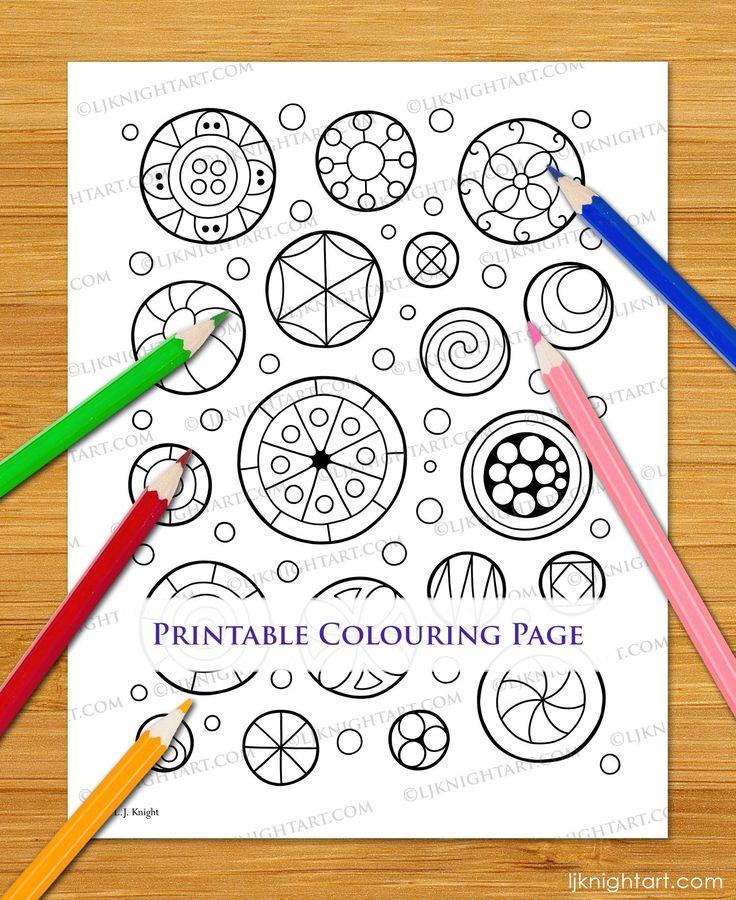 21+ Circle coloring page pdf info
