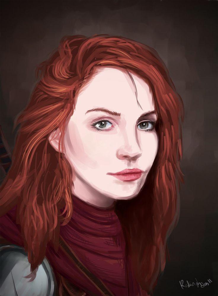 Vera in Armor by oshirockingham.deviantart.com on @deviantART