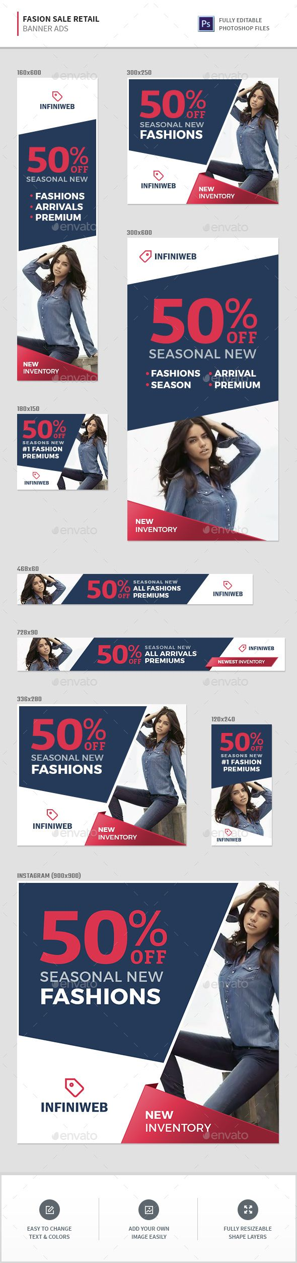 Fashion Sale Retail Banners - Banners & Ads Web Elements Download here : https://graphicriver.net/item/fashion-sale-retail-banners/19679097?s_rank=76&ref=Al-fatih