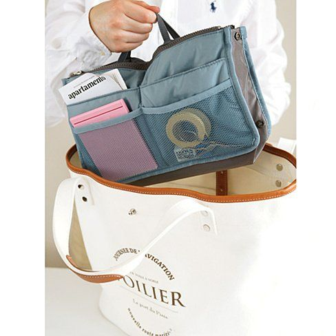 Do you find yourself always searching in your purse for keys, phone, wallet, or all the other stuff we women throw in our purses? If that's you, then we have just the right item for you! The Collapsible Purse Organizer is specially designed for people who have lots and lots to fit in their purse but just can't seem to keep it all organized.