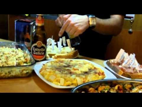 ¿Qué se come en España?- YouTube Desde Santiago de Compostela (Galicia)