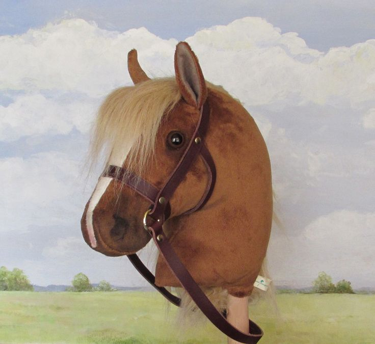 Chestnut limited edition hobby horse