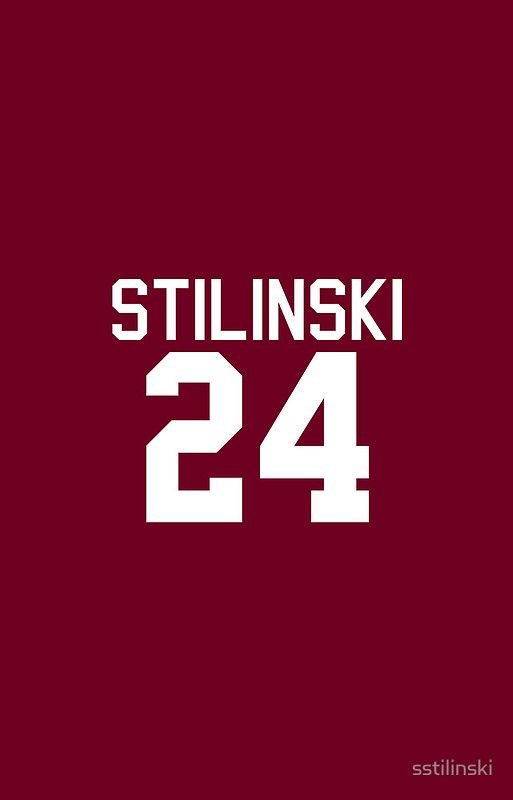 Stiles Stilinski's Jersey (version 2) by sstilinski iPhone cases