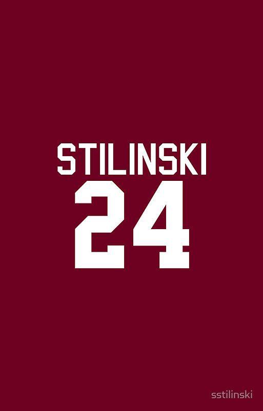 Stiles Stilinski's Jersey (version 2) by sstilinski iPhone cases