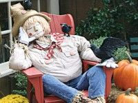 peddlers village scarecrow - Google Search