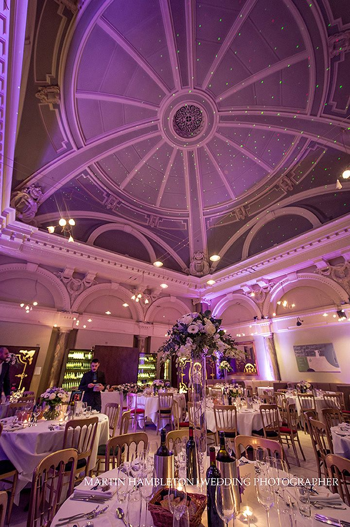 The Dining Room At Stock Restaurant Manchester Wedding Venue