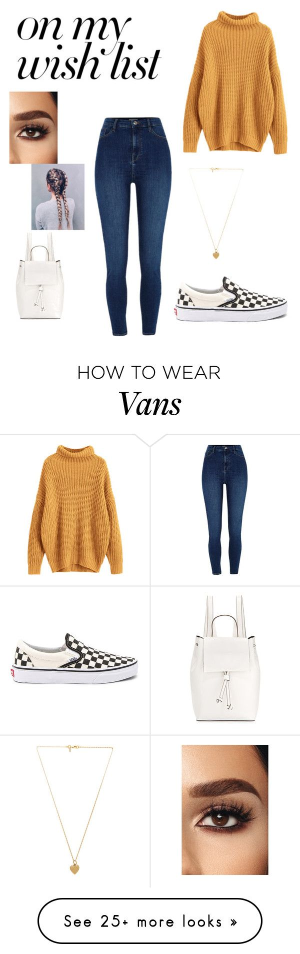 """""""#PolyPresents: Wish List"""" by vansalaz on Polyvore featuring River Island, Vans, French Connection, Vanessa Mooney, contestentry and polyPresents"""