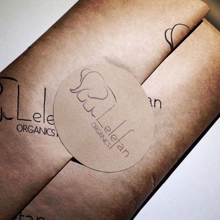 Lelefan Organics eco-friendly packaging  #ecopackaging #handmade #surprise
