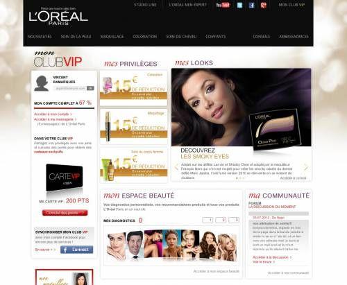 L'Oréal club vip : bons de réduction et produits gratuits