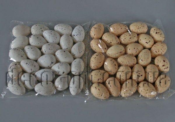 Яйца пластиковые 3.0 см/12 шт 998E-007-1