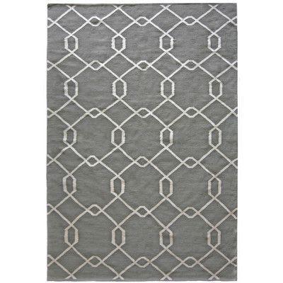 Rug Studio Diamond Grey Area Rug Rug Size: