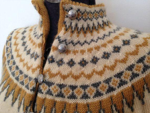Vintage Fair Isle Sweater / Sm/Med / Wool by FarmsteadVintage