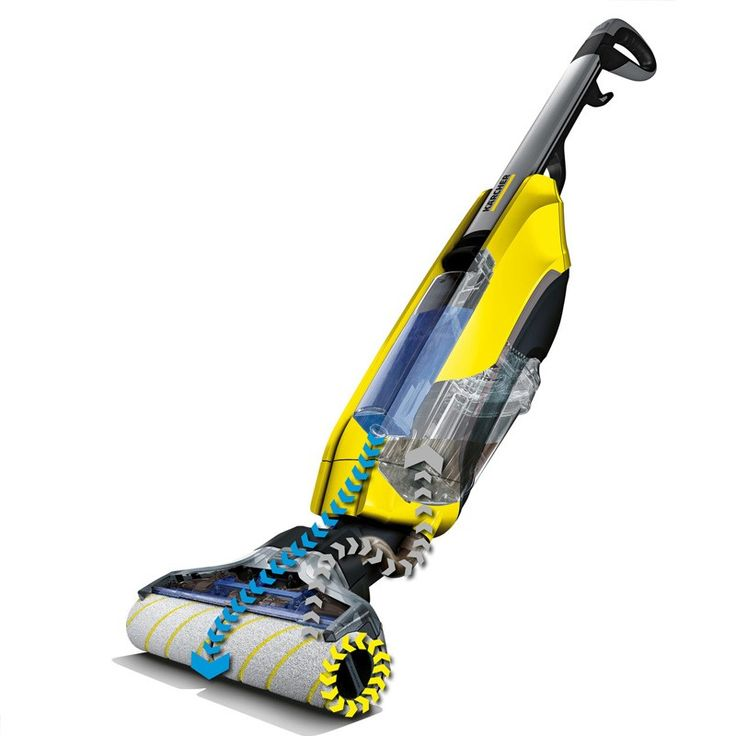 Vacuum and wash in a single step using the brand new SmartRoller technology in the FC5. Be prepared for anything with the revolutionary Karcher FC5 Hard Floor Cleaner.