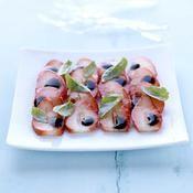 Carpaccio de fraises, balsamique et basilic - une recette Fruit - Cuisine
