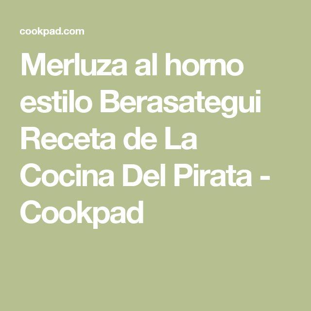 Merluza al horno estilo Berasategui Receta de La Cocina Del Pirata - Cookpad