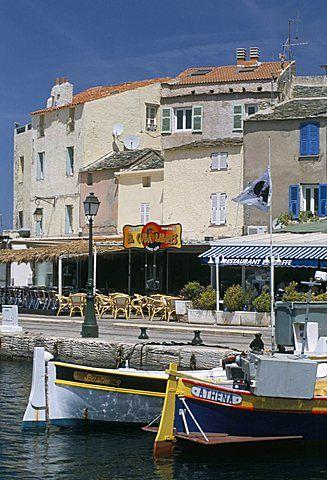 Saint Florent (St. Florent), Haute Corse, island of Corsica, France…