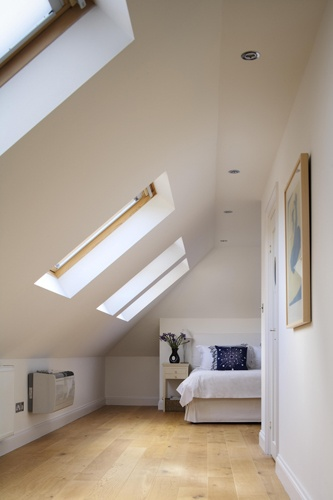 Loft Conversion is working pretty there and offering quite a lot of space