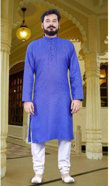 Blue Color Cotton Casual Wear Men Readymade Kurta Pajama | FH575585176 Follow us @heenastyle  #men #mens #menfashion #mensfashion #menfashionpost #menslook #mensgrooming #grooming #kurta #groomingformen #menskurta #menswear #meninstyle #mensstyle #heenastyle #summersale #kurtapajamaonline #kurta