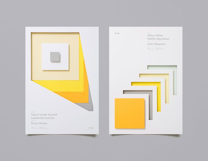 Abstract forms that represent the tactility of paper.