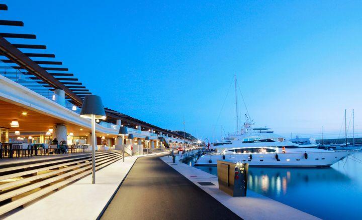 My fave :) good memories!  Port Adriano marina by Philippe Starck, Palma de Mallorca, Spain.