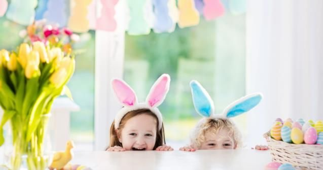 Easter peek-a-boo - Babies and toddlers - Educatall