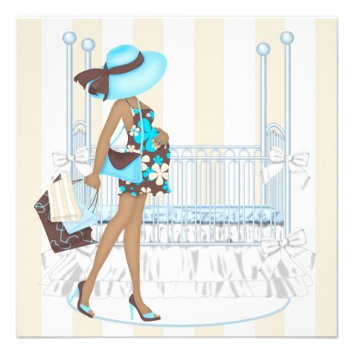 16 best Blank Baby Shower Invitations images on Pinterest Baby