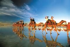 Experience Cable Beach, Broome on camel back