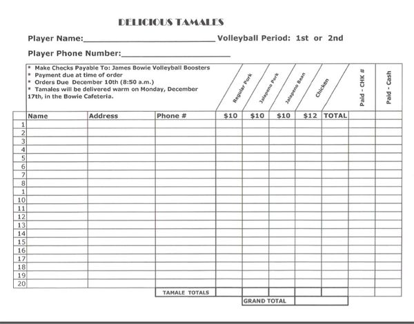 Pin Online Order Form Incoming search terms – Fundraising Forms Templates Free