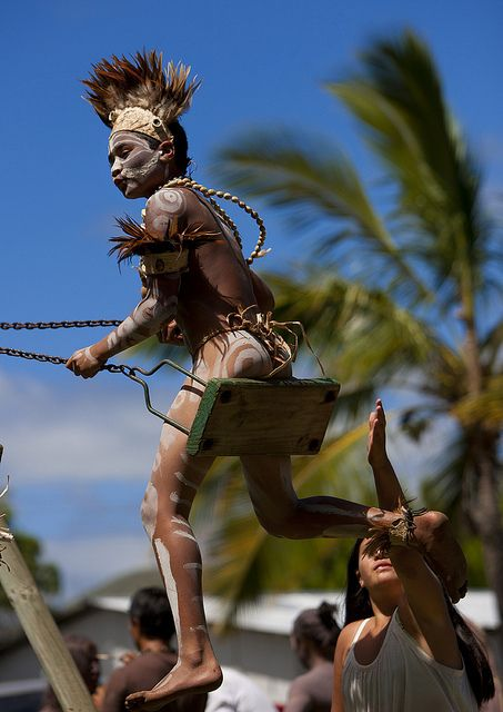 Kid During Tapati Festival, Easter Island, Chile by Eric Lafforgue, via Flickr