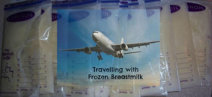 How to Travel With Frozen Breastmilk