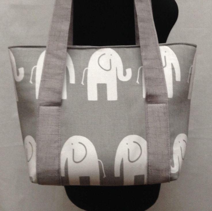 Elephant Diaper Bag, Boy Diaper Bag, Baby Shower Gift, Diaper Bag Tote, Baby Diaper Bag, Small Diaper Bag, Girl Diaper Bag, Nappy Bag by SewingChicBoutique on Etsy